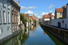 Bruges,Belgique,canaux