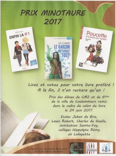 prix minotaure; coulommiers; prix littéraire